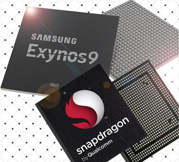 exynos 9810 vs snapdragon 845