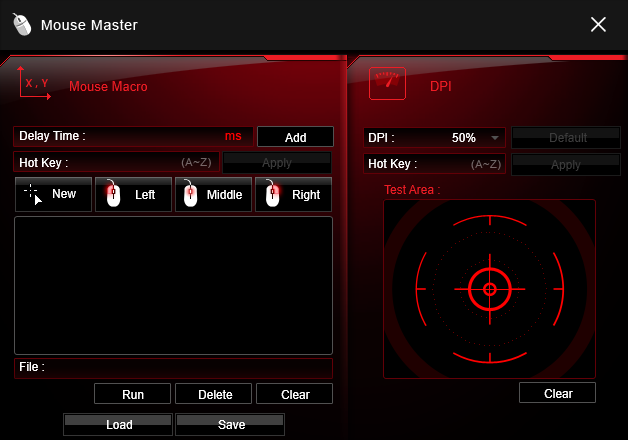 Mouse Master MSI