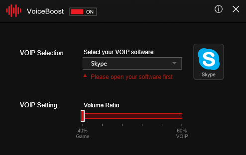 Voice Boost MSI