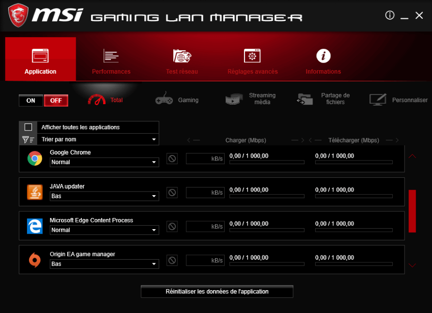 MSI Gaming Lan Manager